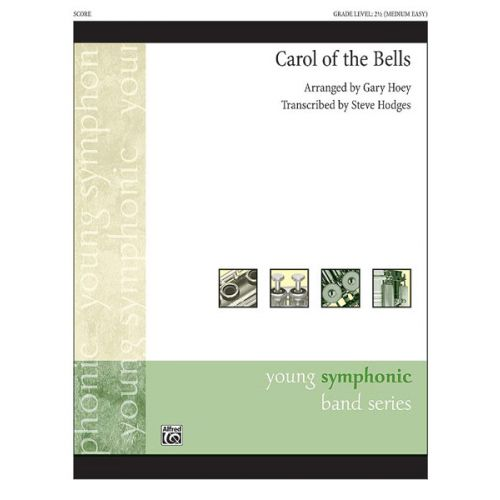 ALFRED PUBLISHING CAROL OF THE BELLS - SYMPHONIC WIND BAND