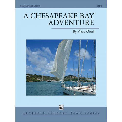 ALFRED PUBLISHING A CHESAPEAKE BAY ADVENTURE - SYMPHONIC WIND BAND