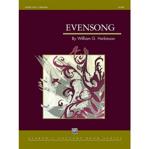 ALFRED PUBLISHING EVENSONG - SYMPHONIC WIND BAND