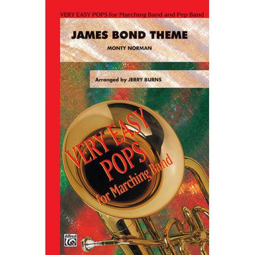 ALFRED PUBLISHING BURNS JERRY - JAMES BOND THEME - SCORE AND PARTS