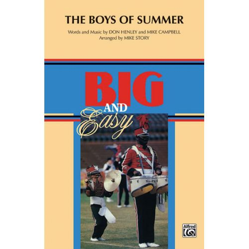 ALFRED PUBLISHING THE BOYS OF SUMMER - SCORE AND PARTS