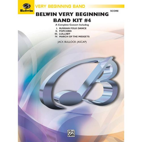 ALFRED PUBLISHING BELWIN VERY BEGINNING BAND KIT #4 - SYMPHONIC WIND BAND
