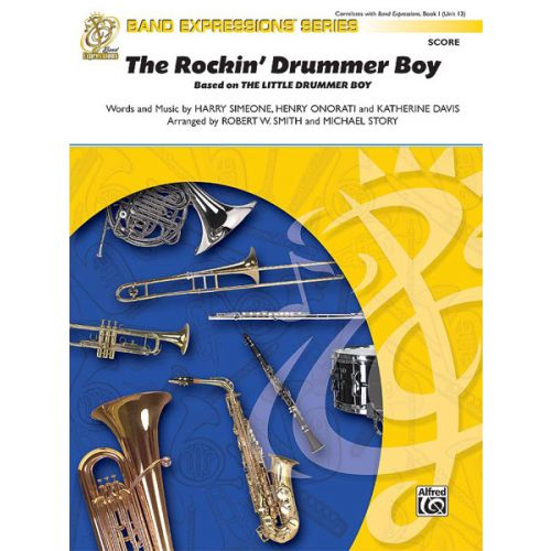ALFRED PUBLISHING ROCKIN' DRUMMER BOY THE - SYMPHONIC WIND BAND