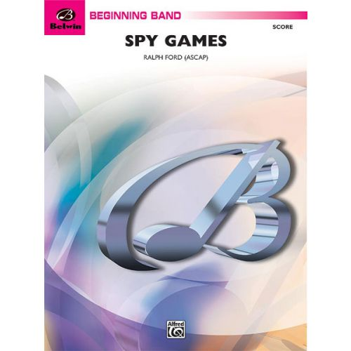 ALFRED PUBLISHING SPY GAMES - SYMPHONIC WIND BAND