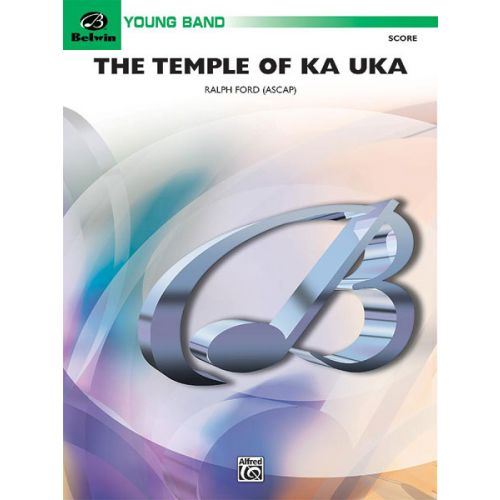 ALFRED PUBLISHING THE TEMPLE OF KA UKA - SYMPHONIC WIND BAND