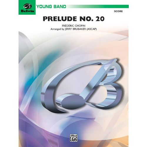 ALFRED PUBLISHING PRELUDE NO 20 - SYMPHONIC WIND BAND