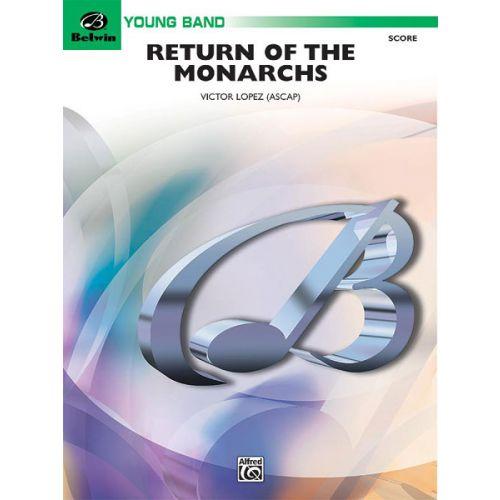 ALFRED PUBLISHING RETURN OF THE MONARCHS - SYMPHONIC WIND BAND