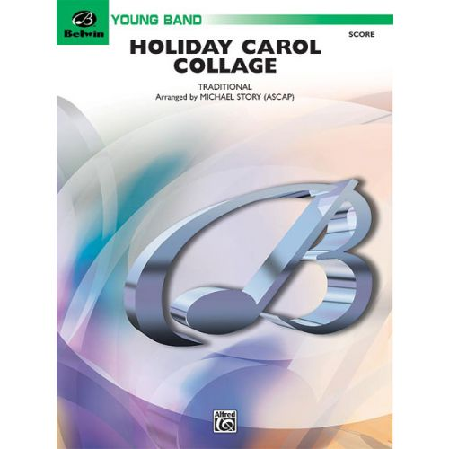ALFRED PUBLISHING HOLIDAY CAROL COLLAGE - SYMPHONIC WIND BAND