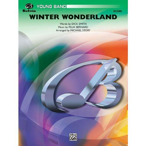 ALFRED PUBLISHING WINTER WONDERLAND - SYMPHONIC WIND BAND