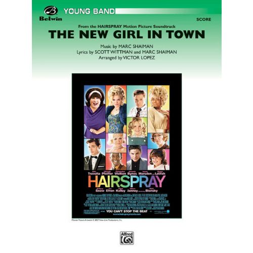 ALFRED PUBLISHING LOPEZ VICTOR - NEW GIRL IN TOWN,THE - SYMPHONIC WIND BAND