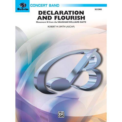 ALFRED PUBLISHING DECLARATION AND FLOURISH - SYMPHONIC WIND BAND