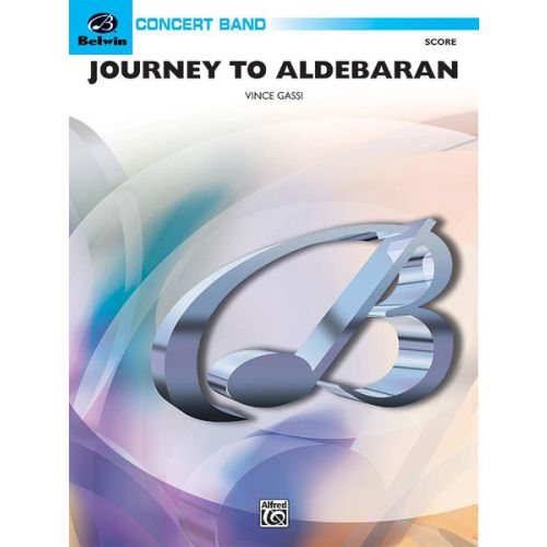 ALFRED PUBLISHING JOURNEY TO ALDEBARAN - SYMPHONIC WIND BAND