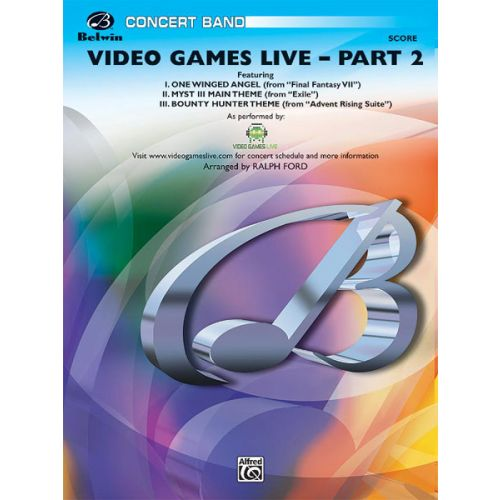 ALFRED PUBLISHING VIDEO GAMES LIVE PART 2 - SYMPHONIC WIND BAND