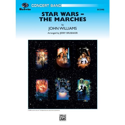 ALFRED PUBLISHING STAR WARS: THE MARCHES - SYMPHONIC WIND BAND