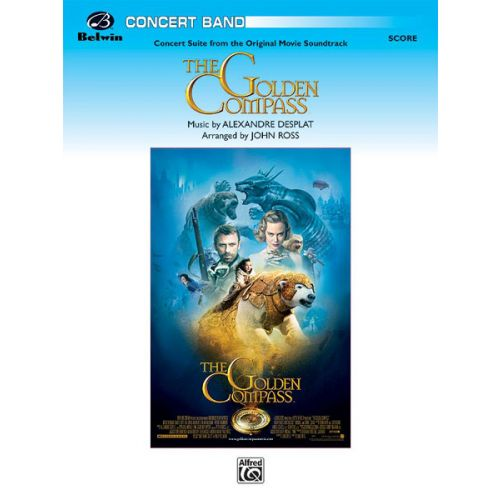 ALFRED PUBLISHING THE GOLDEN COMPASS - SYMPHONIC WIND BAND
