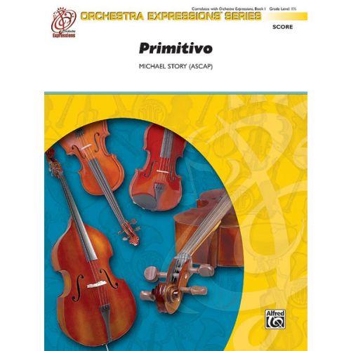ALFRED PUBLISHING PRIMITIVO - STRING ORCHESTRA