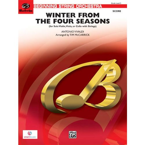 ALFRED PUBLISHING WINTER FROM THE FOUR SEASONS - STRING ORCHESTRA