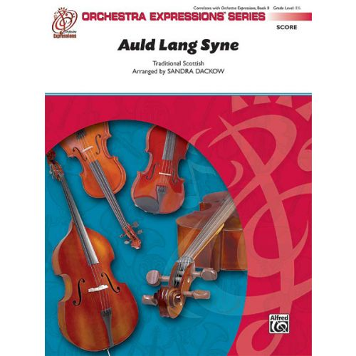 ALFRED PUBLISHING AULD LANG SYNE - STRING ORCHESTRA