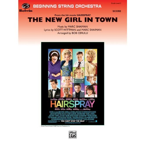 ALFRED PUBLISHING CERULLI BOB - NEW GIRL IN TOWN - STRING ORCHESTRA