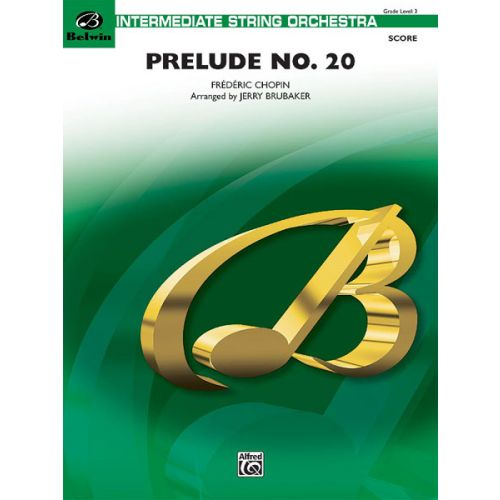 ALFRED PUBLISHING PRELUDE NO 20 - STRING ORCHESTRA