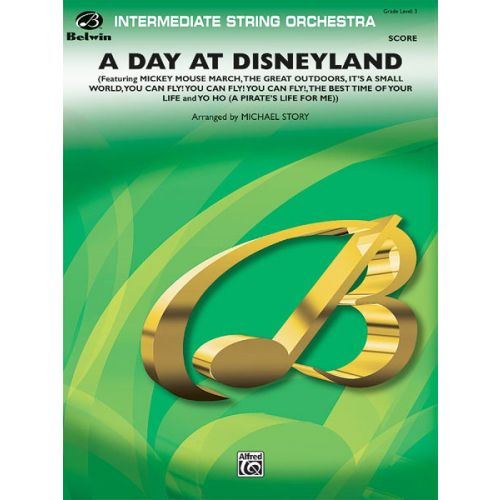 ALFRED PUBLISHING A DAY AT DISNEYLAND - FULL ORCHESTRA