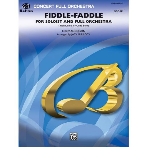 ALFRED PUBLISHING FIDDLEFADDLE - FULL ORCHESTRA