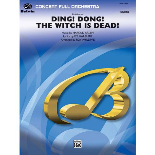 ALFRED PUBLISHING VARIATIONS DING! DONG! WITCH IS DEAD - FULL ORCHESTRA