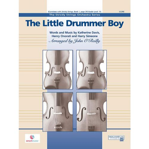 ALFRED PUBLISHING THE LITTLE DRUMMER BOY - STRING ORCHESTRA