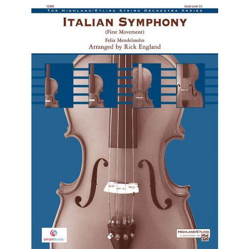 ALFRED PUBLISHING ITALIAN SYMPHONY - STRING ORCHESTRA