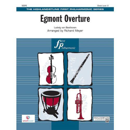 ALFRED PUBLISHING EGMONT OVERTURE - FULL ORCHESTRA