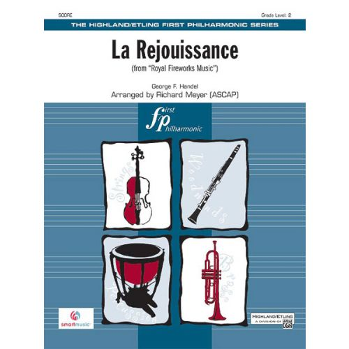 ALFRED PUBLISHING LA REJOUISSANCE - FULL ORCHESTRA