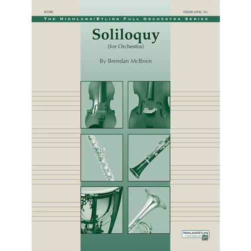 ALFRED PUBLISHING SOLILOQUY FOR ORCHESTRA - FULL ORCHESTRA