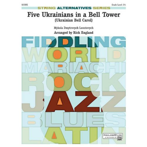 ALFRED PUBLISHING FIVE UKRAINIANS IN A BELL TOWER - STRING ORCHESTRA