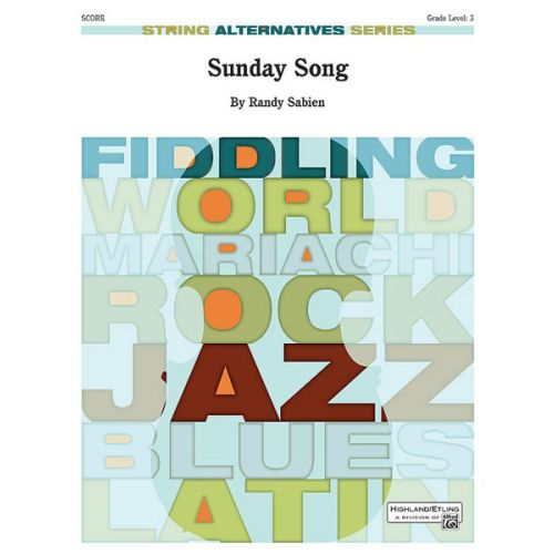 ALFRED PUBLISHING SUNDAY SONG - STRING ORCHESTRA