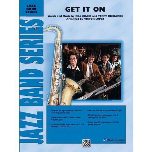 ALFRED PUBLISHING LOPEZ VICTOR - GET IT ON - JAZZ BAND