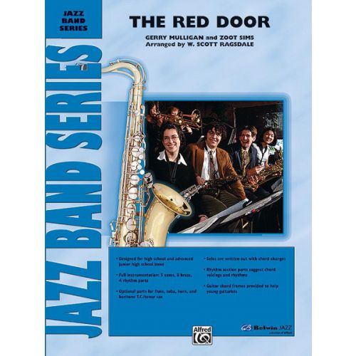 ALFRED PUBLISHING RAGSDALE S. - RED DOOR - JAZZ BAND