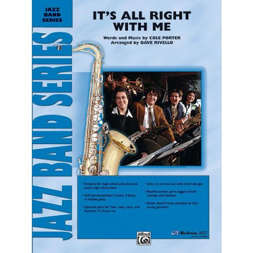 ALFRED PUBLISHING RIVELLO DAVE - IT S ALL RIGHT WITH ME - JAZZ BAND