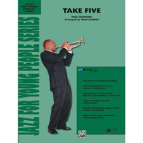 ALFRED PUBLISHING TAKE FIVE - JAZZ BAND