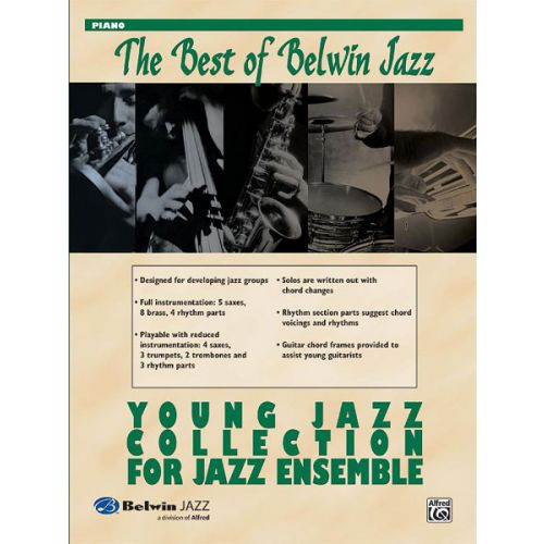 ALFRED PUBLISHING BEST BELWIN JAZZ : YOUNG JAZZ - PIANO