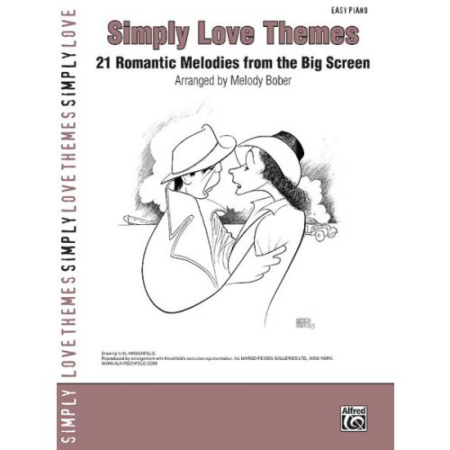 ALFRED PUBLISHING SIMPLY LOVE THEMES - PIANO SOLO
