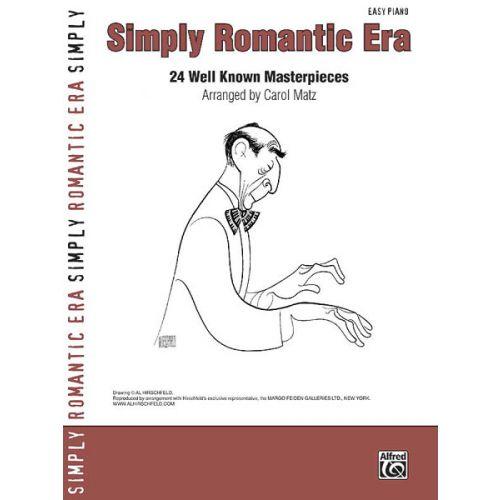 ALFRED PUBLISHING MATZ CAROL - SIMPLY ROMANTIC ERA PIANO - PIANO SOLO