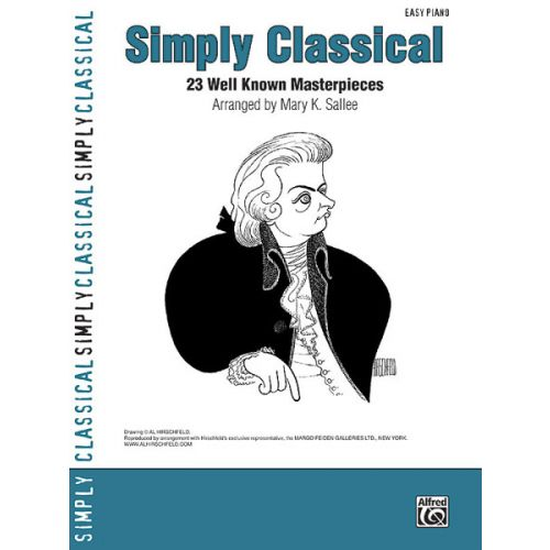 ALFRED PUBLISHING SALLEE MARY - SIMPLY CLASSICAL - PIANO SOLO