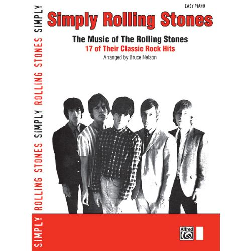 ALFRED PUBLISHING ROLLING STONES THE - SIMPLY ROLLING STONES - PIANO SOLO