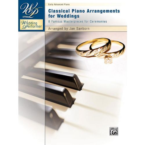 ALFRED PUBLISHING WEDDING PERFORMER: CLASSICAL PIANO - PIANO SOLO