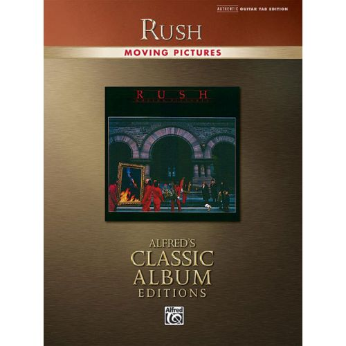 ALFRED PUBLISHING RUSH - MOVING PICTURES - GUITAR TAB