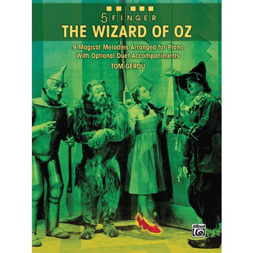 ALFRED PUBLISHING 5 FINGER THE WIZARD OF OZ - PIANO SOLO