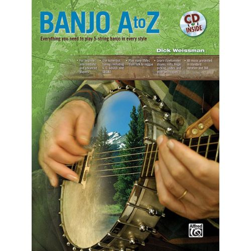 ALFRED PUBLISHING BANJO A TO Z - BANJO