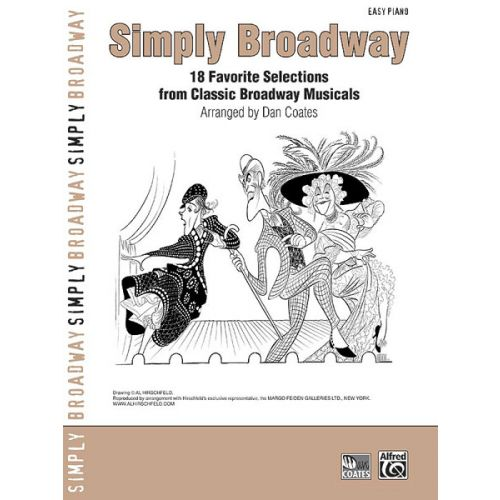ALFRED PUBLISHING COATES DAN - SIMPLY BROADWAY V17 - PIANO SOLO