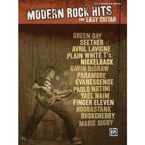 ALFRED PUBLISHING MODERN ROCK HITS - GUITAR TAB