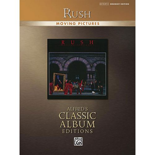 ALFRED PUBLISHING RUSH - MOVING PICTURES DRUMS GTAB - GUITAR TAB